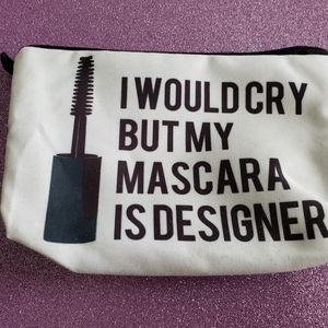 FREE with purchase - New makeup bag